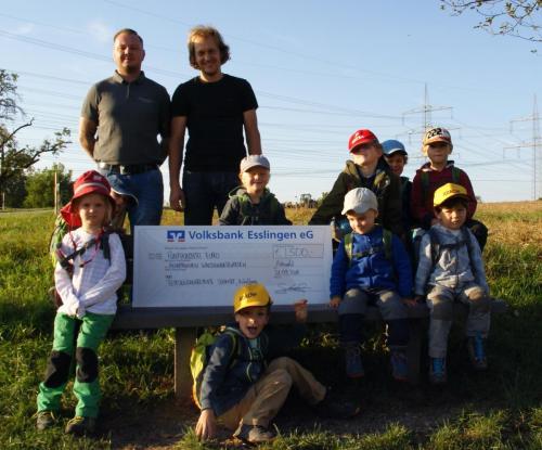 Spende Waldkindergarten Aichwald 2018